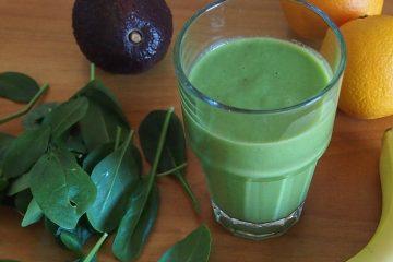 avocado spinat smoothie