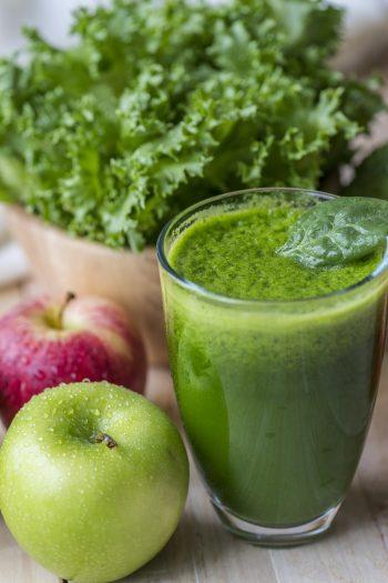 Apfel-Spinat-