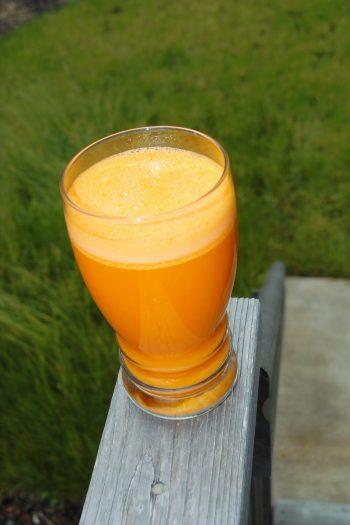 Papaya-Orangen-Smoothie mit Maracuja