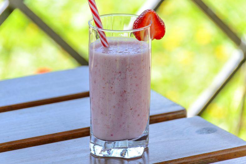 Erdbeeren-Joghurt-Smoothie